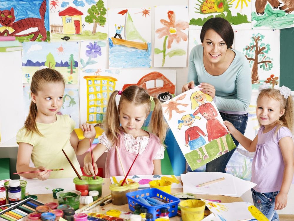 Работа учителя изобразительного искусства